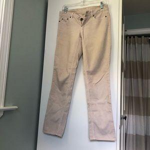 J. Crew tan corduroy pants